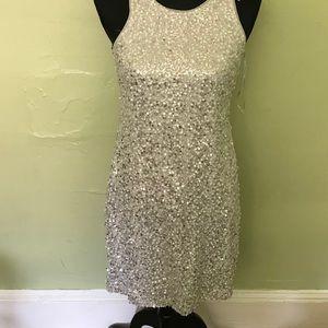 White House black market sequin dress